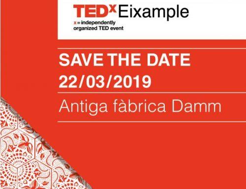SAVE THE DATE TEDxEixample 2019 – 22 de marzo