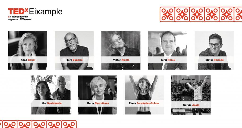 PONENTES TEDx