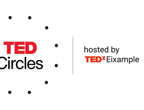 Noves formes de connectar. Et convidem a TED Circles!